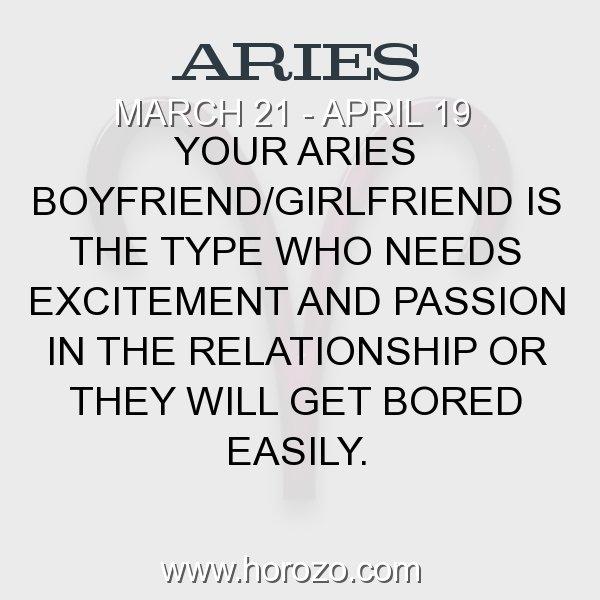 Aries as a girlfriend