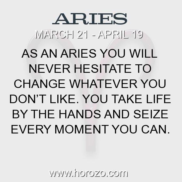 Aries zodiac fact